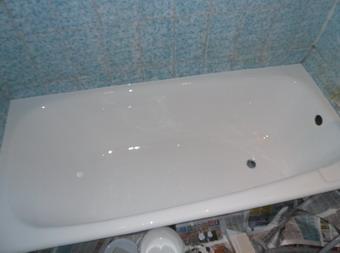Реставрация ванн - Курасовщина, ул. Якубова 8