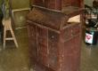 Старинный шкафчик до реставрации